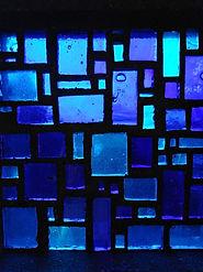 Glasfenstermosaik Stephanuskirche