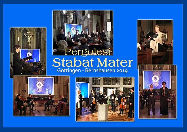 Pergolesi - Stabat Mater - Bildcollage