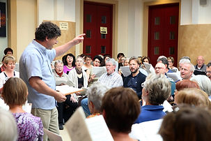 Wien Stephansdom Probe mit 160 Sängern