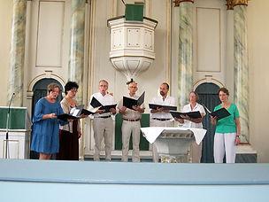 Musikalischer Gottesdienst Landolfshausen Ebergötzer Vokalsextett