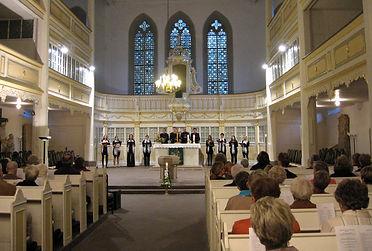 Konzert Bachkirche Arnstadt