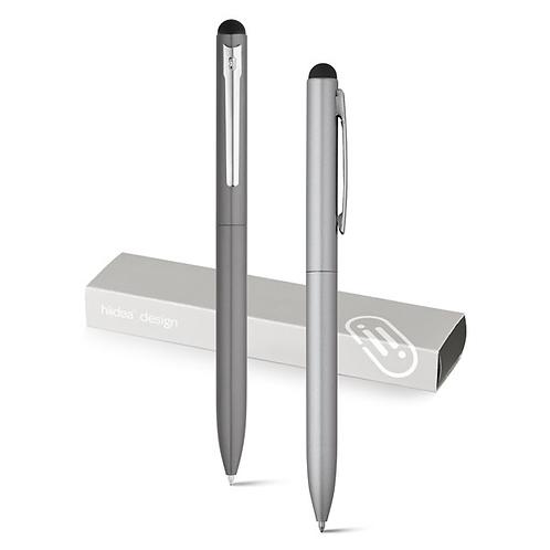 Penna a sfera in aluminio