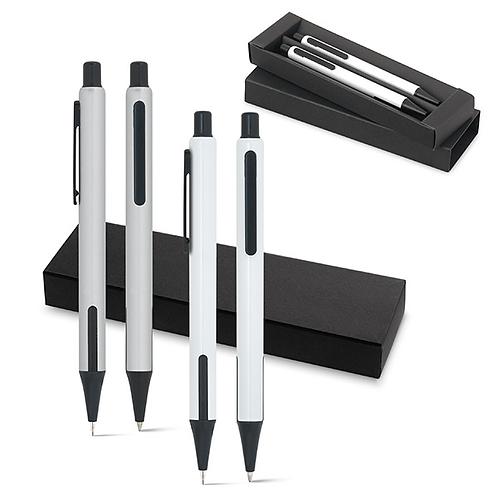 Set penna a sfera e matita portamina