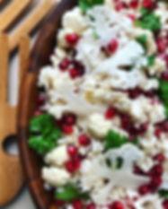 Raw Cauliflower & Pomegranate salad .jpg