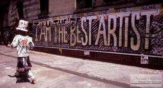 I Am the Best Artist - Spring Street & West Broadway