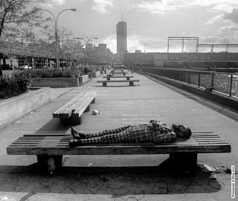 Morton Street Pier Man Resting.jpg