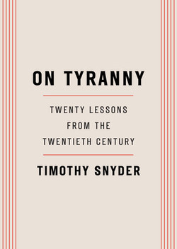 Snyder Timothy - On Tyranny twenty l