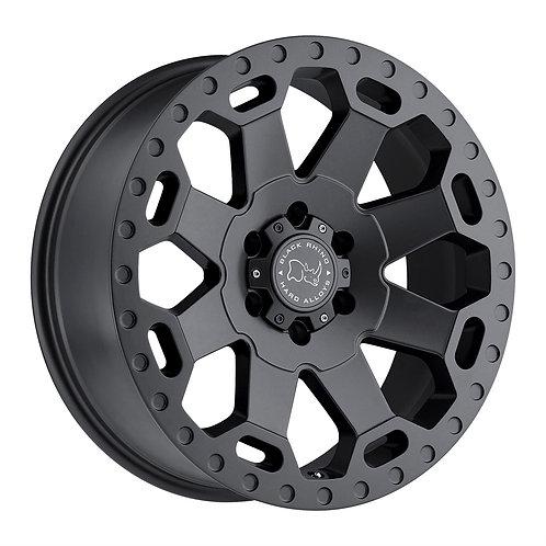 """17"""" BLACK RHINO WARLORD 6x130"""