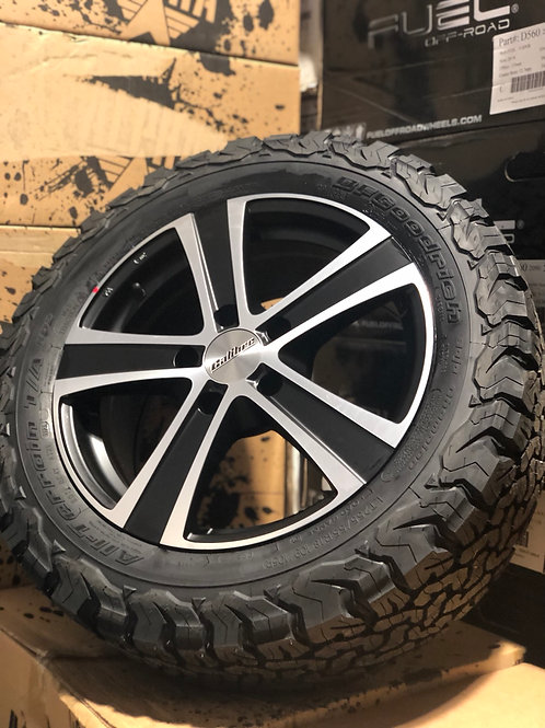 """18"""" Black 5x130 Load rated"""