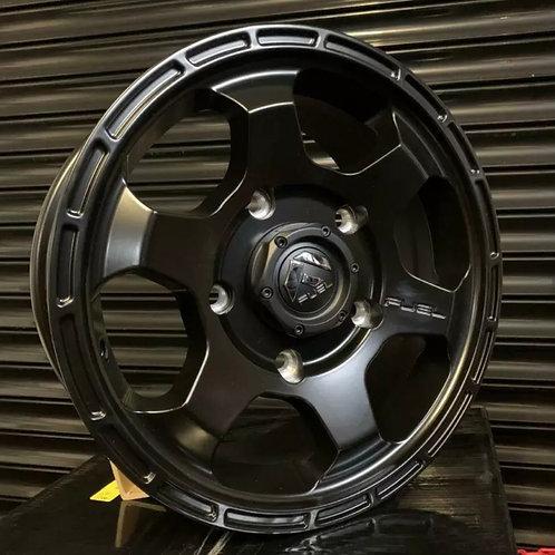 "Full  set of 4x 16"" Fuel Shok alloy wheels"