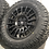 "Thumbnail: SET OF 4x 18"" ROGUE RAW MATT BLACK 5x120"
