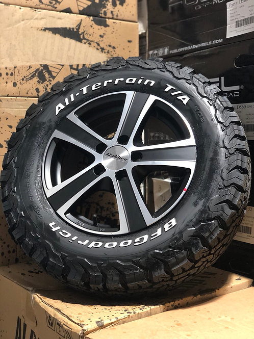 """16"""" Black 5x114 Load rated"""
