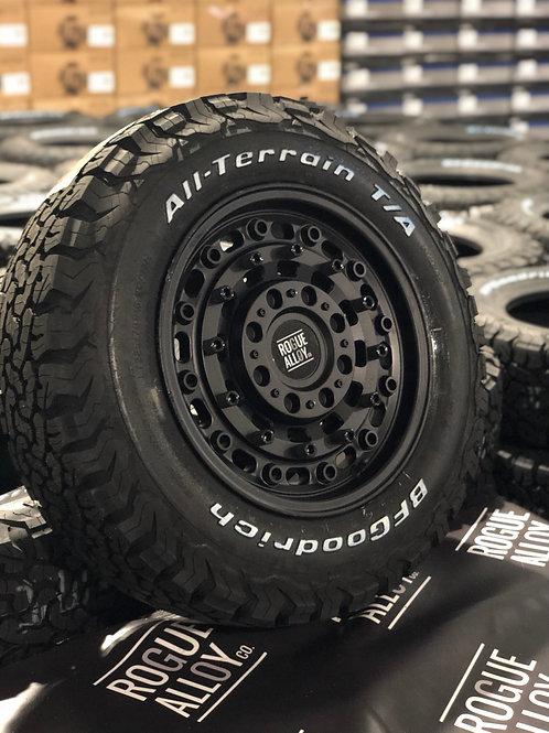 "4x 16"" Rogue CC1 Alloy wheels CADDY/VITO/T4"