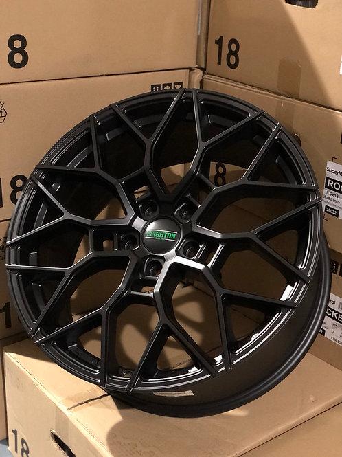 """20"""" LV2 Matte Black 5X120"""