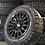 Thumbnail: SET OF 4x OZ RALLY RAID GLOSS BLACK