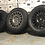 "Thumbnail: SET OF 4x 18"" ROGUE RAW GLOSS BLACK 5X120"