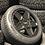 "Thumbnail: FULL SET OF 4x 20"" SUPERMETAL ROCKET MATT BLACK 5X120"