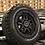 "Thumbnail: FULL SET OF 4x 17"" BLACK RHINO BARSTOW"