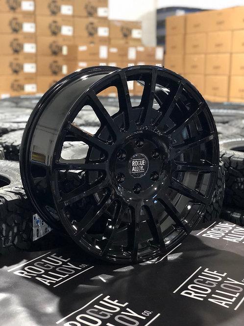 """20"""" ROGUE RAW GLOSS BLACK 5x120 T5/T6"""