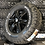 """Thumbnail: Full Set of 4x 16"""" GLOSS BLACK  6x130"""