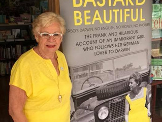 Brisbane author Mocco Wollert  84 - My co author of 3 books on my website - has just won another awa