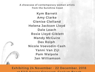 TWELVE - an exhibition of Contemporary women artists of the Sunshine Coast