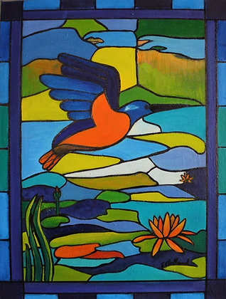 Stained Glass Window   SOLD