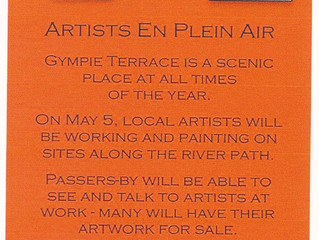 MAY 5th  - Noosa River walk on Gympie Terrace will be alive with artists from Noosa Arts & Craft