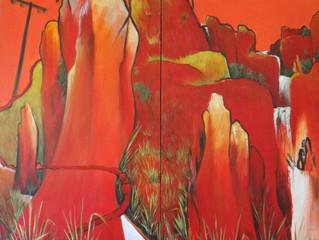 FINALIST in Queensland Regional Art Awards -again