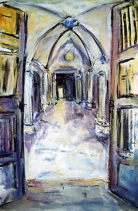 EXTRA SPECIALS Entrances & Exits -Italy 70cmx60cm +mat & frame