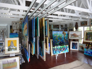 MY Studio ready for visitors 17th -26th August   NOOSA OPEN STUDIOS