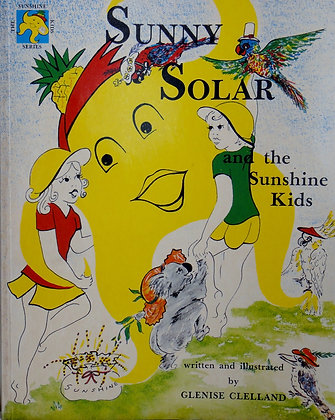 Sunny Solar and the Sunshine Kids 27cm x21cm
