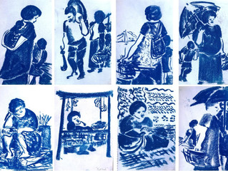 Sketches from my travels in Pacific Islands  from 1970's to 2000