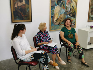 On Saturday I was guest speaker at the Brisbane Institute of Art Nona Metcalfe exhibition talking ab