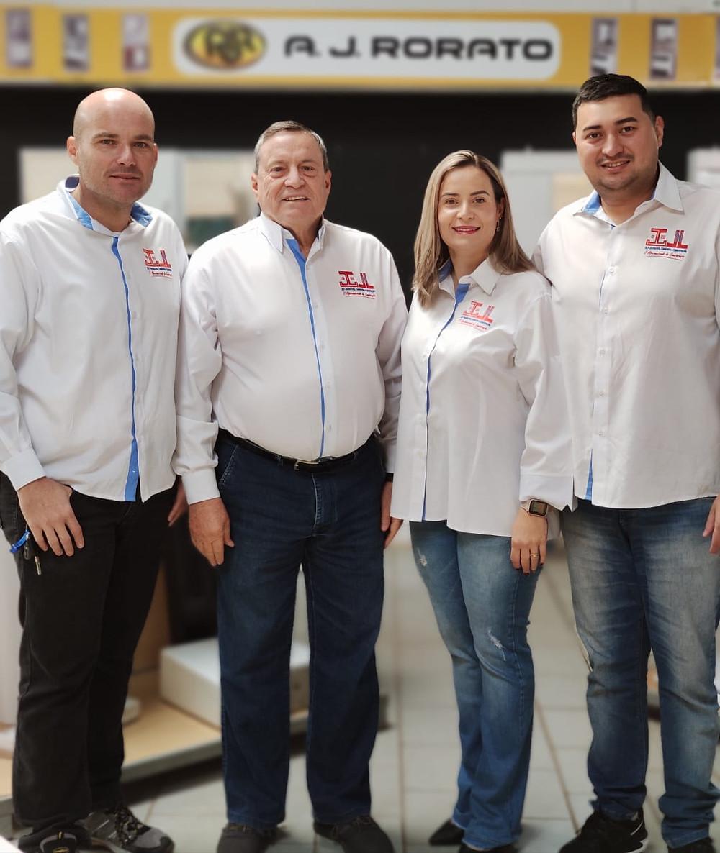 Netto, João Lozano, Ana Flávia e Leandro