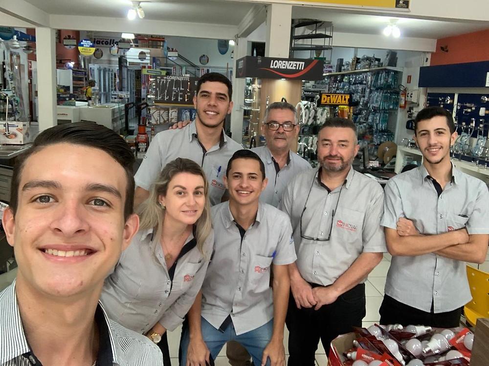 Equipe de Vendas da Pontal – Pirapozinho/SP