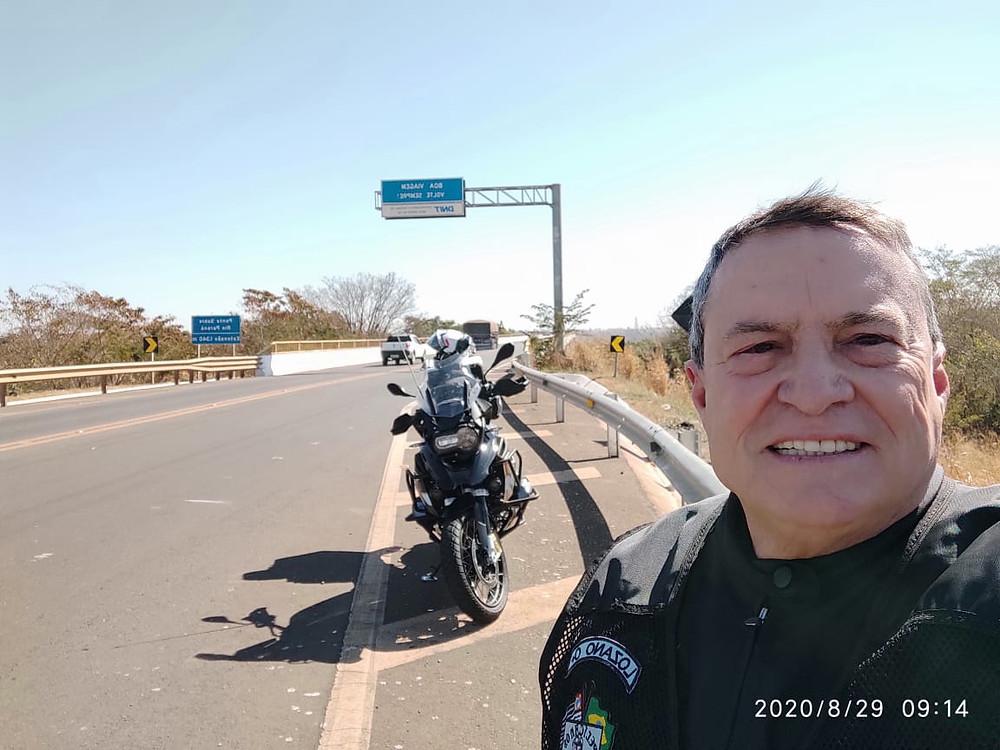 A caminho de Campo Grande (MS), no dia 29 de agosto/2020