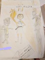 ילדים מציירים גילגמש.jpg