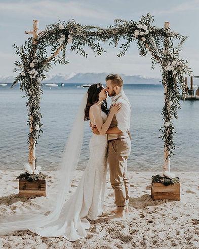 Weddings by Shannon Hyatt Lake Tahoe Bea