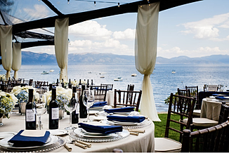 Private Estate Lake Tahoe Wedding