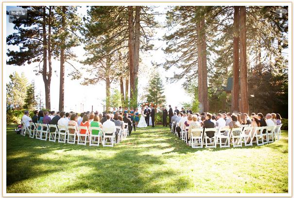 Lake Tahoe Lakefront Weddings