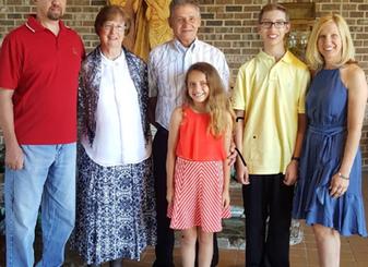 Our Parish Family - The Vosnicks