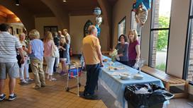 Fr. Wilke's welcome reception 6/26/21