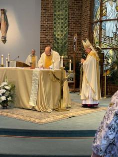 Fr. Wilke Installation Mass 6/24/2021