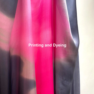 Printing and Dyeing
