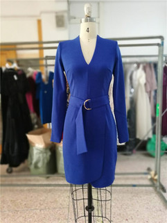Fitted dress with Belt