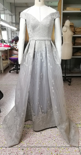 Grand evening gown
