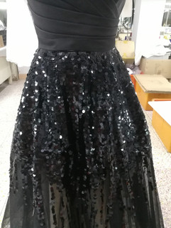 Sequins embellishment