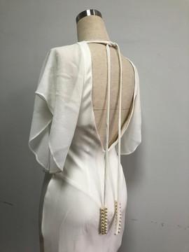 Bias-cut Silk dress