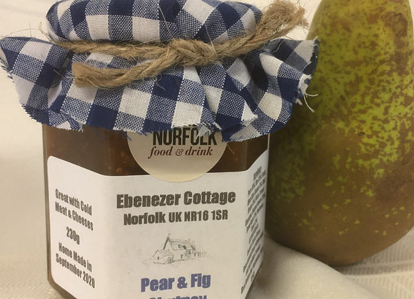 Pear and Fig Chutney